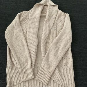 Cardigan sweater